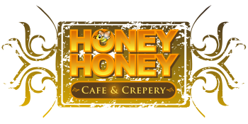 Honey Honey Cafe & Crepery Logo